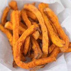 The Best Air Fryer Sweet Potato Fries Recipe