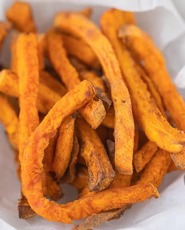 The Best Air Fryer Sweet Potato Fries Recipe