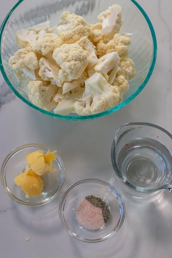 instant pot cauliflower mash ingredients