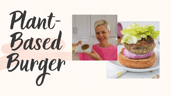 plant based burger thumbnail from youtube