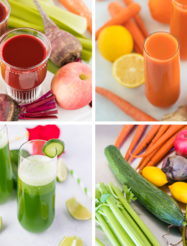 best juicing collage