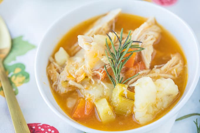 Leftover Turkey Vegetable Soup