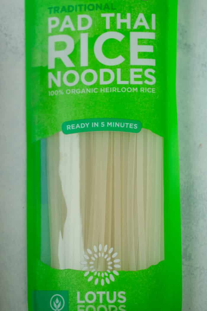 Package of rice noodles