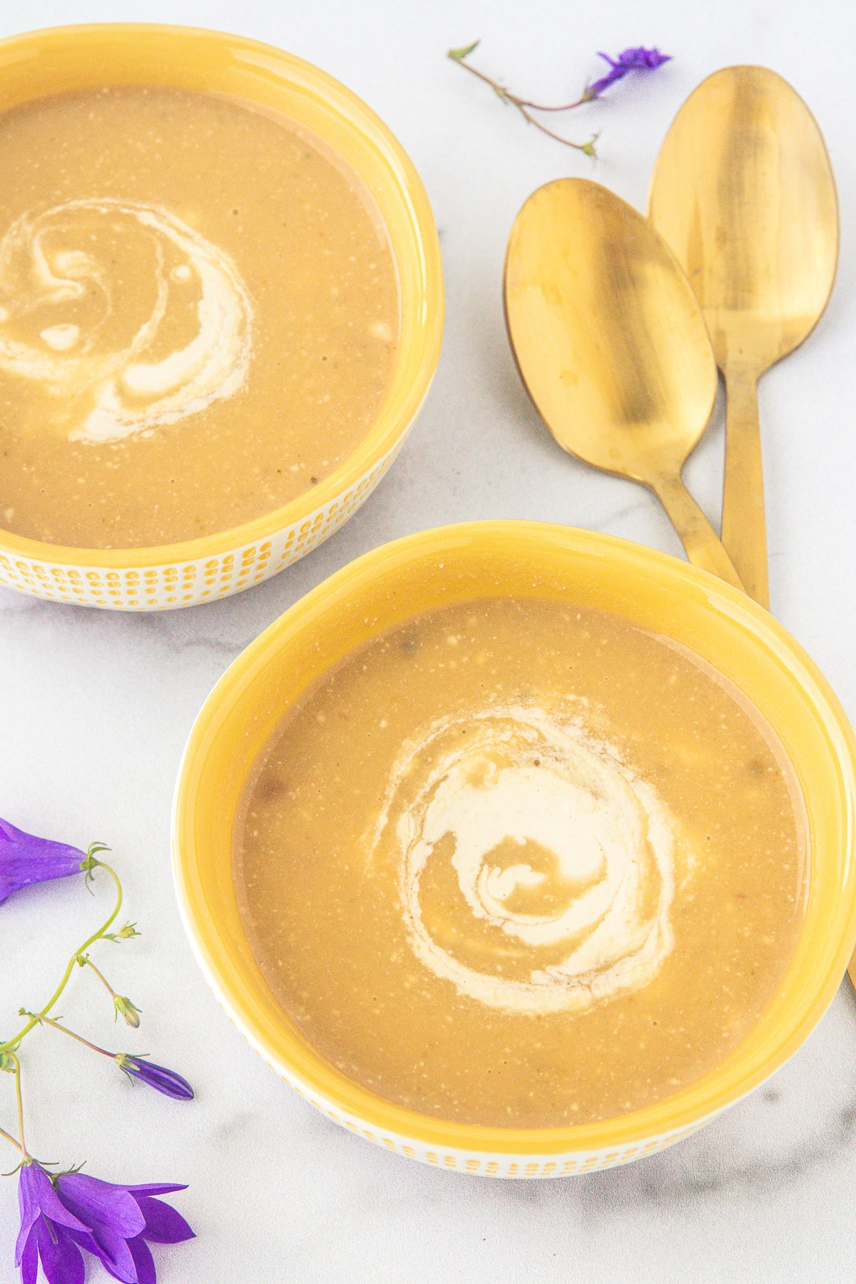 soup with cashew cream sauce