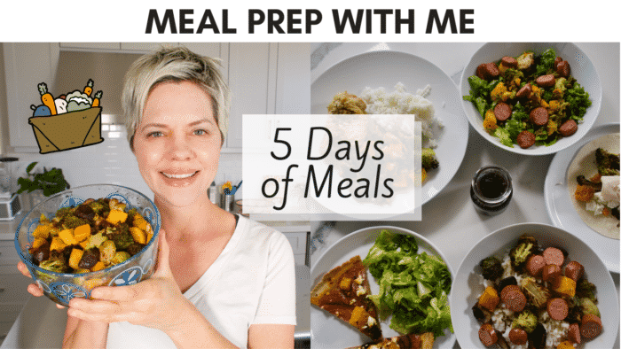 meal prep with me youtube thumbnail
