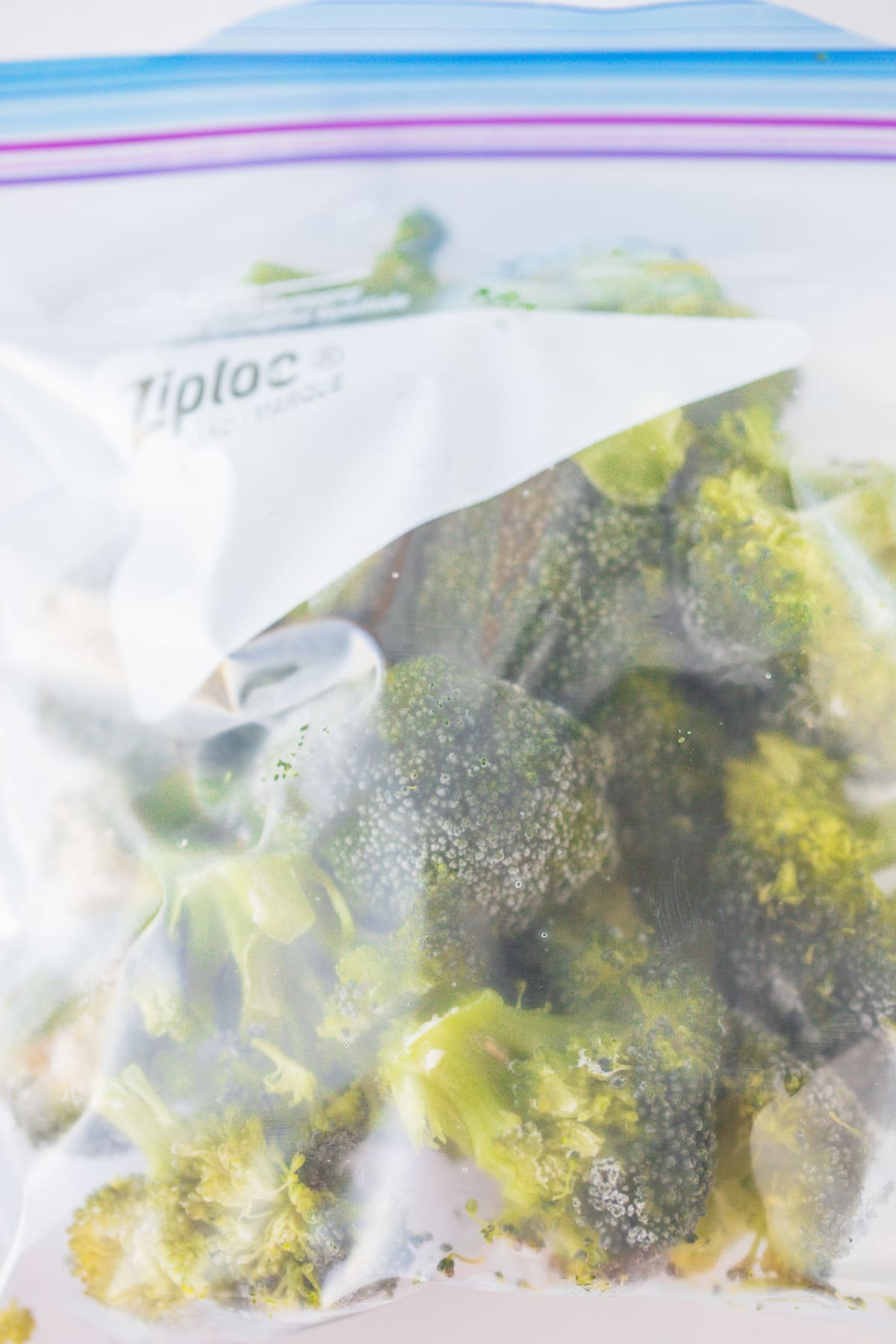 bag of frozen broccoli