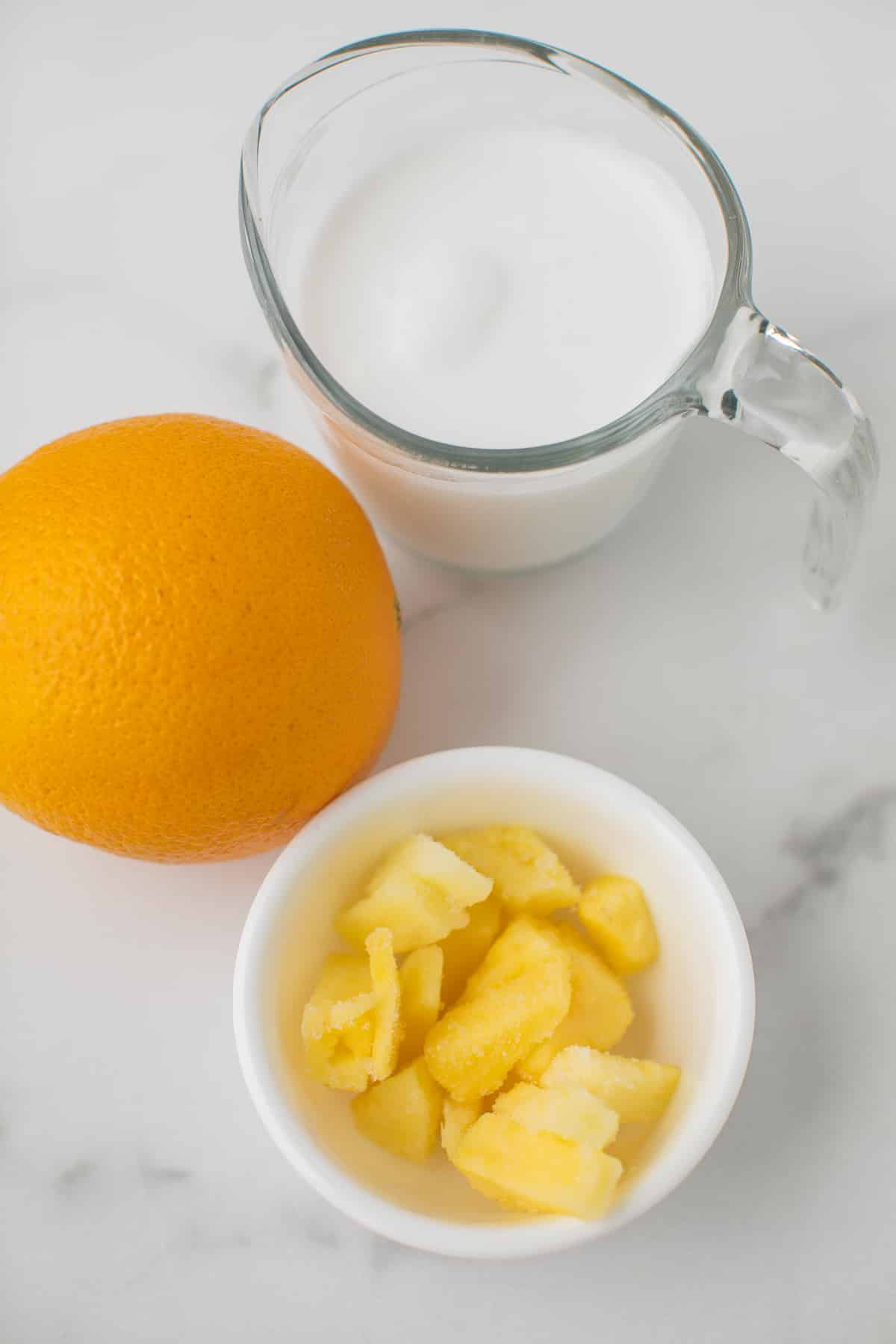 pineapple orange smoothie ingredients
