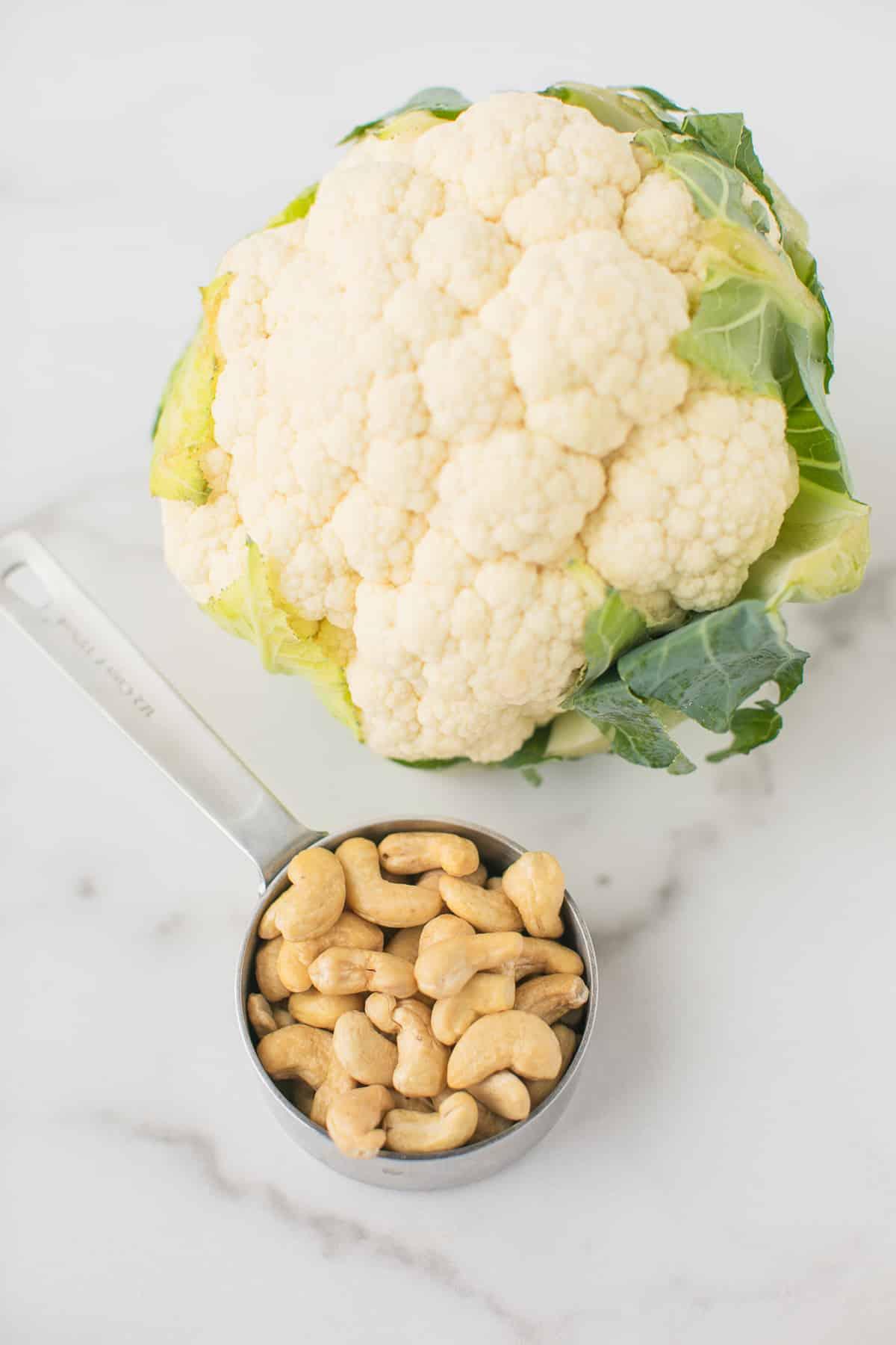 cauliflower and cashews