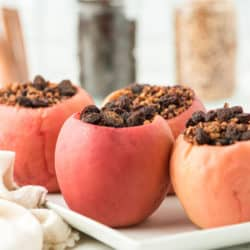 instant pot baked apples done