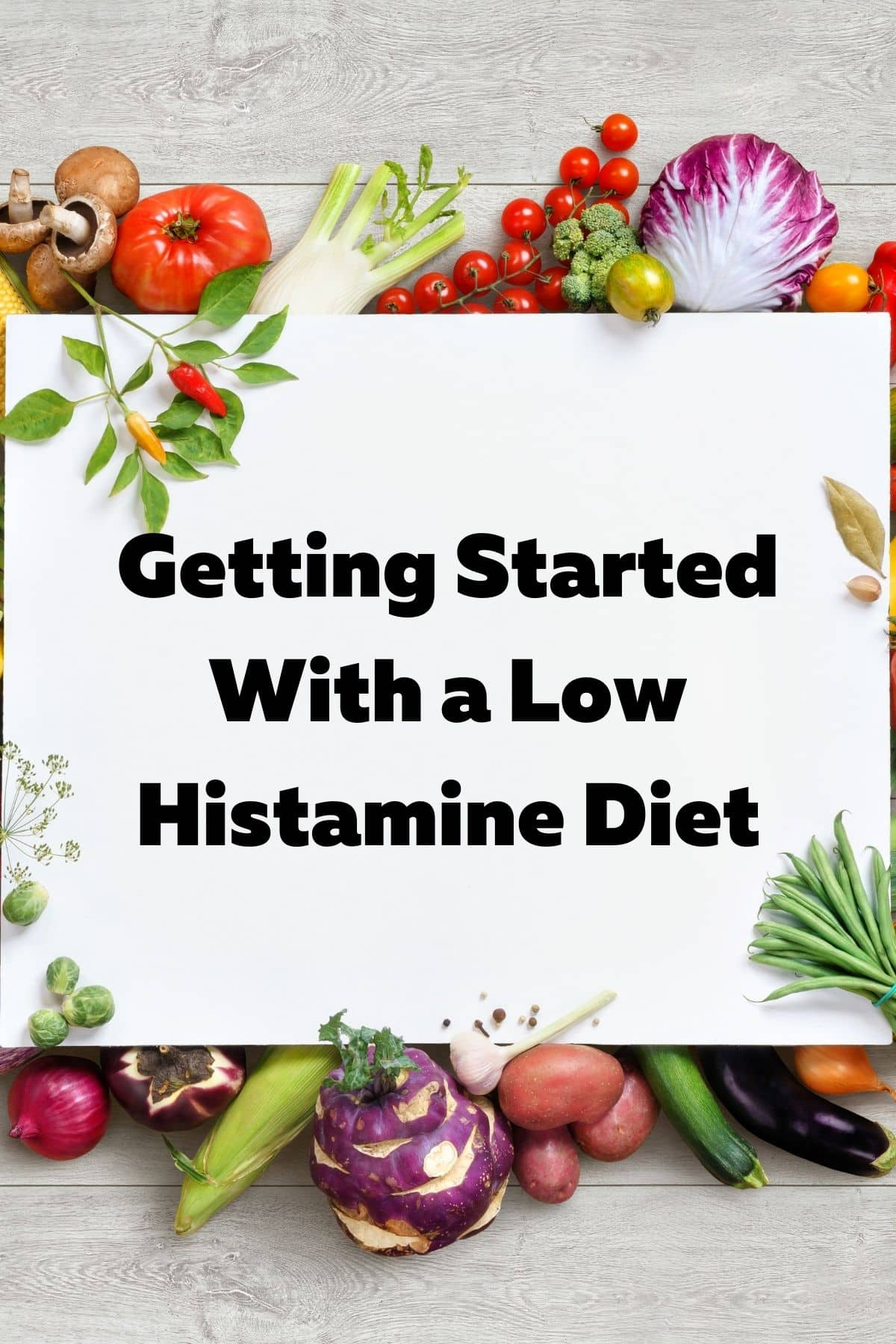 what foods are low in histamine