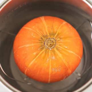 kabocha squash in an instant pot