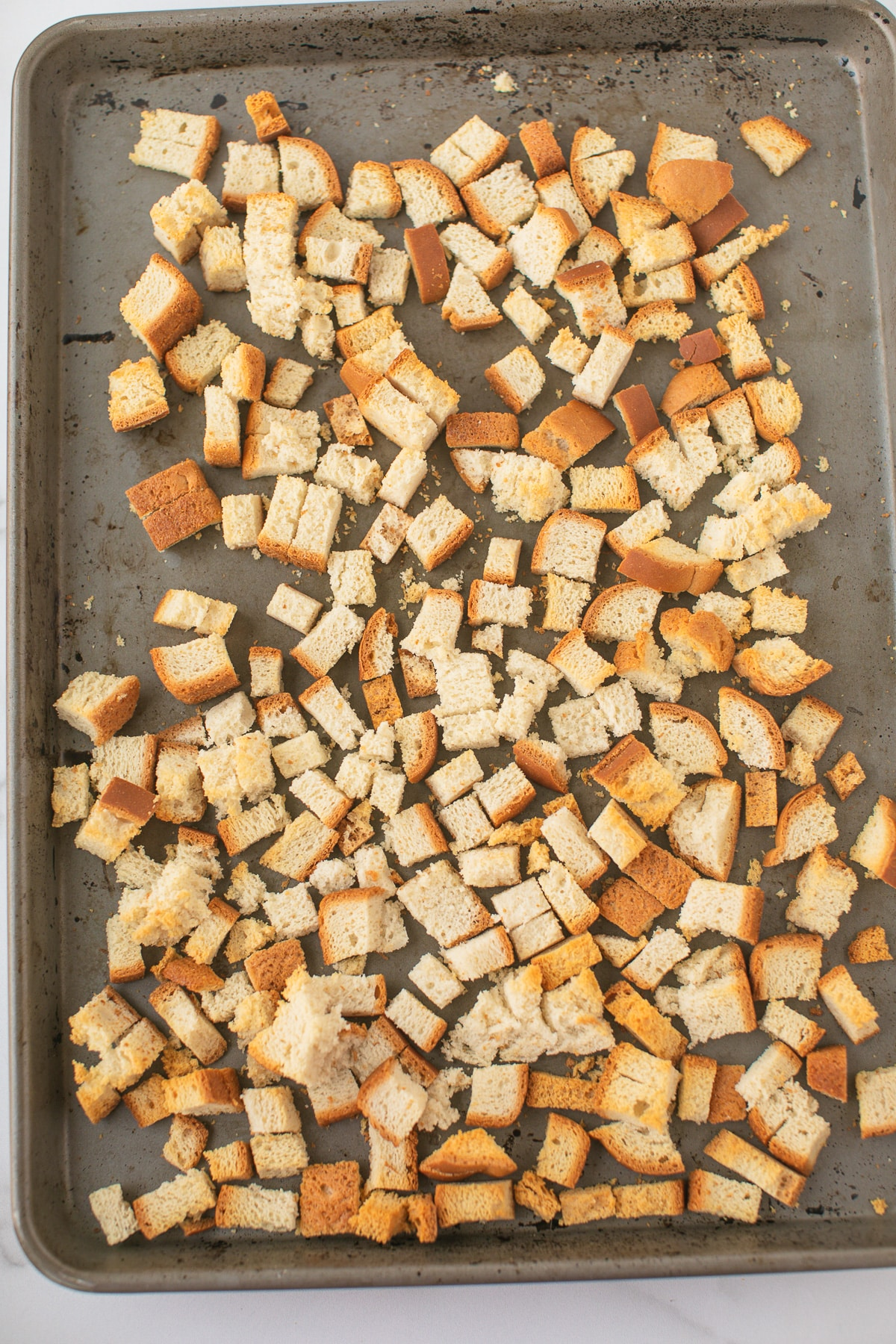 dried bread cubes for stuffing