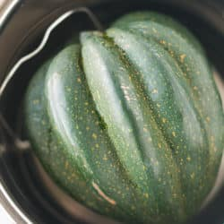 whole acorn squash in the instant pot