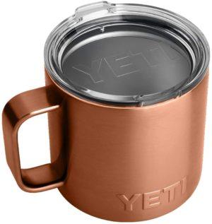 yeti mug in copper
