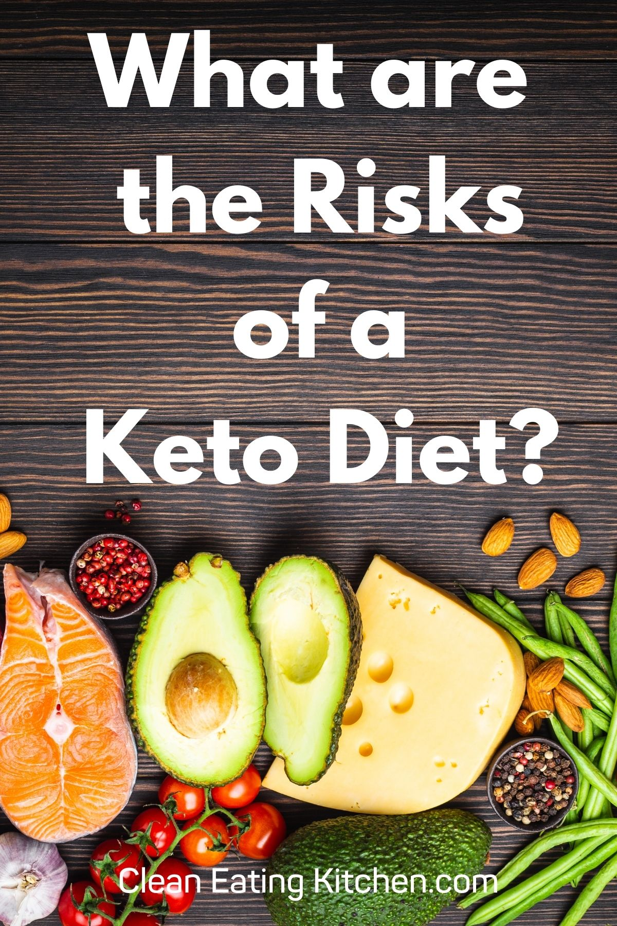 infographic that says what are the risks of a ketogenic diet?