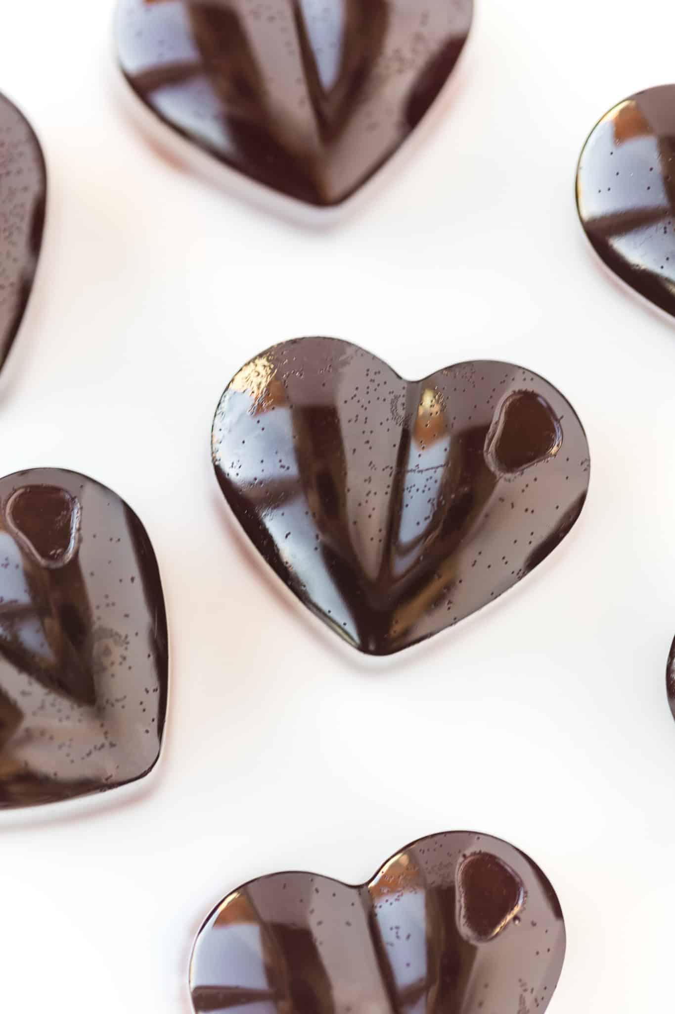 heart shaped gummy