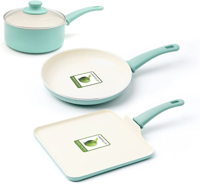 greenlife beginner cook 4-piece set
