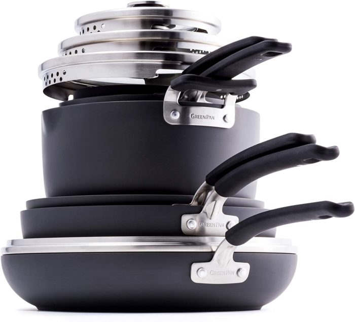 greenpan stackable pans