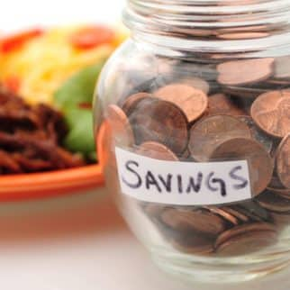 saving money on food budget
