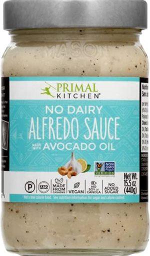 No dairy alfredo sauce with avocado oil