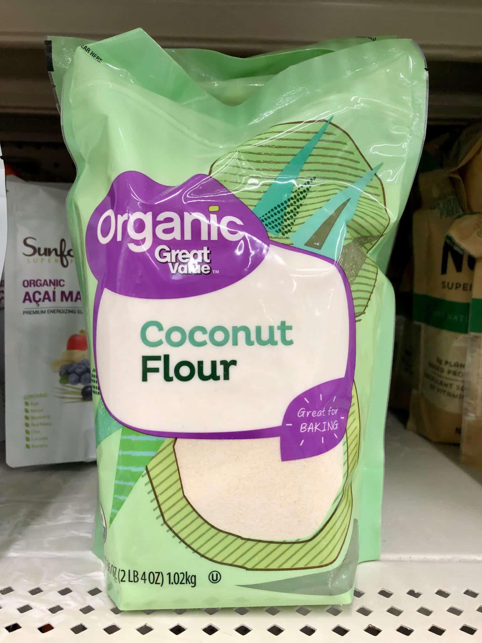 bag of great value coconut flour