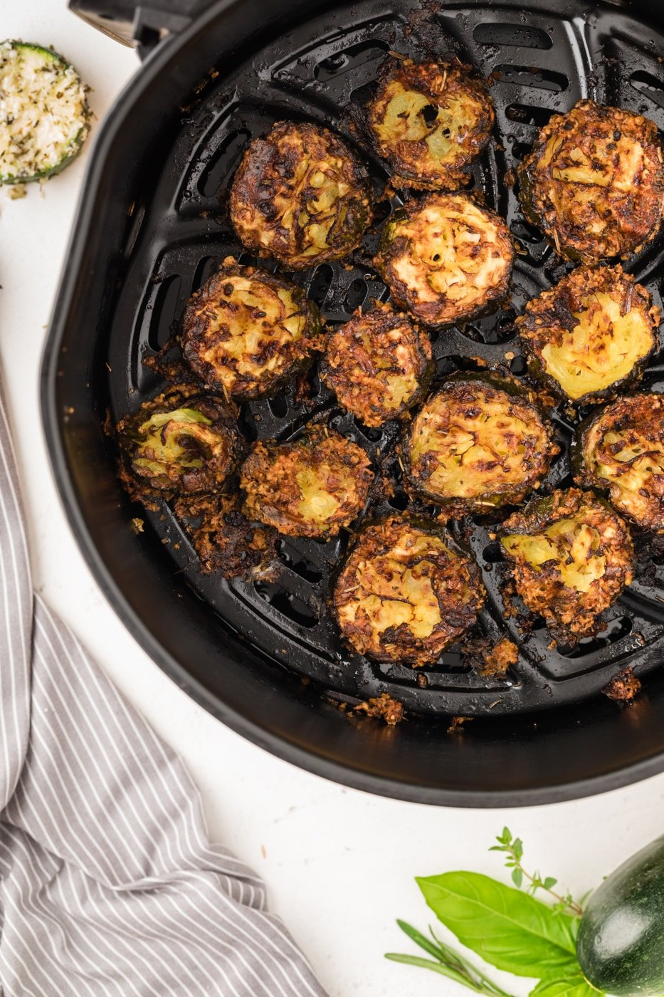 zucchini chips with parmesan