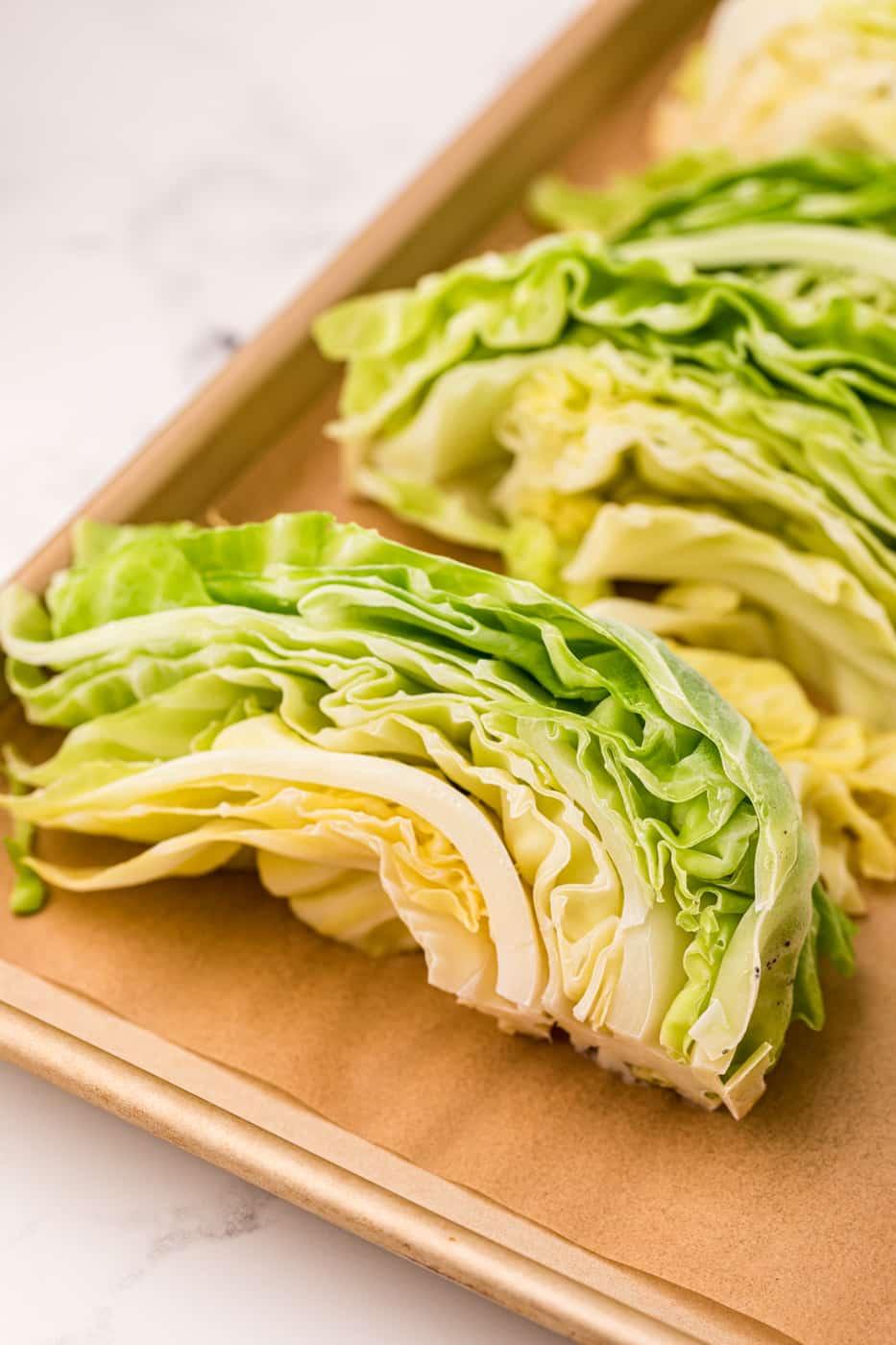 frozen cabbage slices