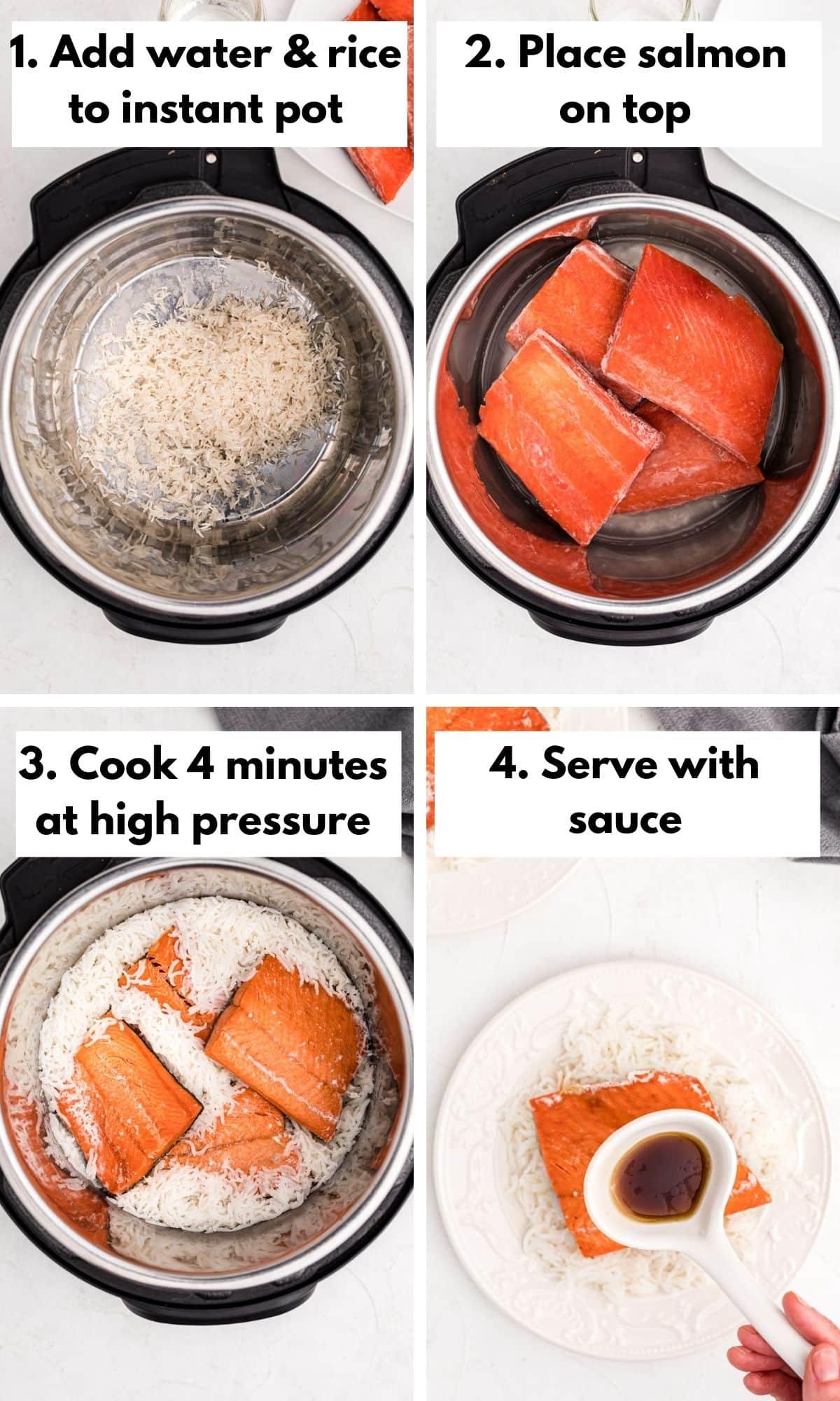 How to make instant pot teriyaki salmon