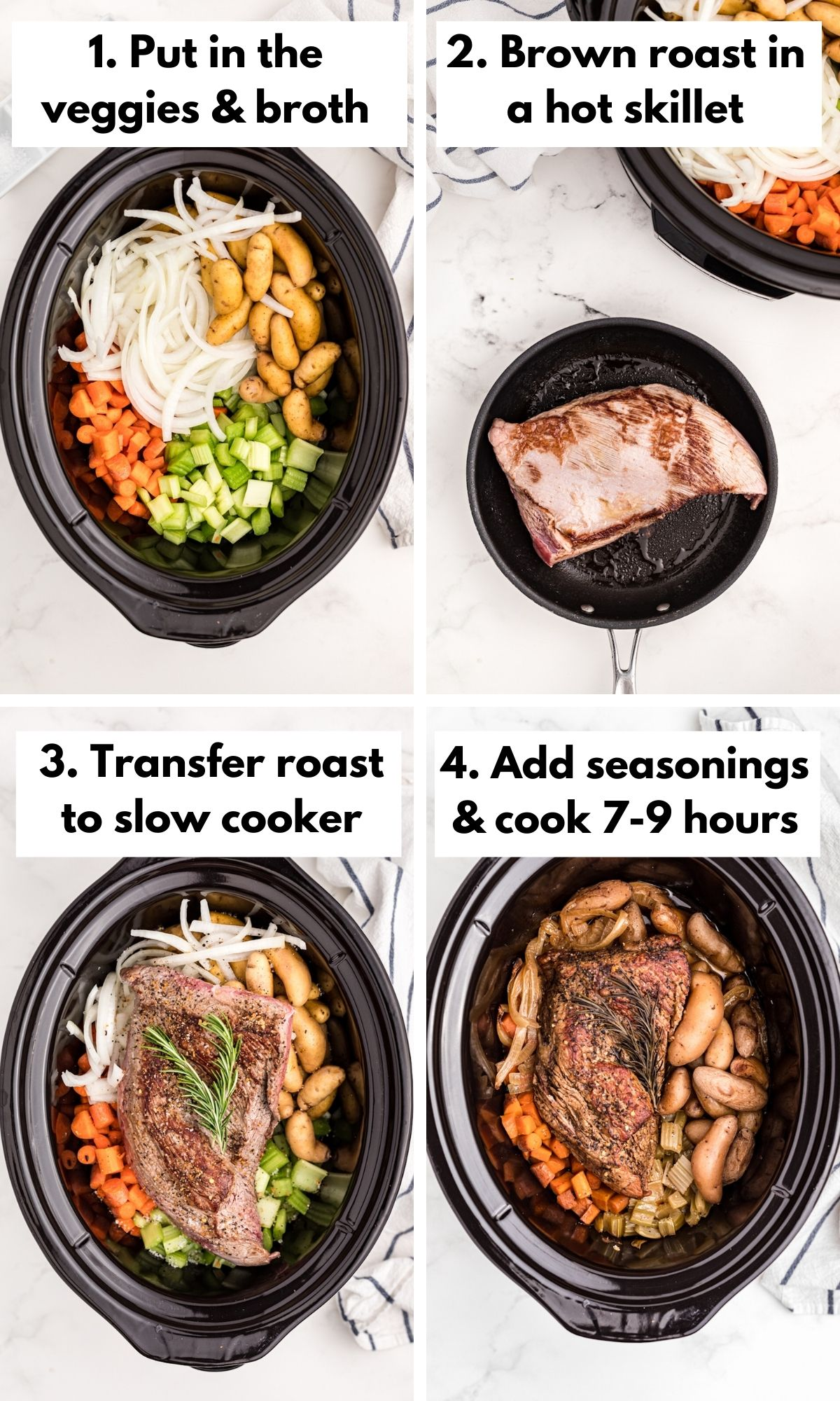 How to cook a tri tip in the slow cooker