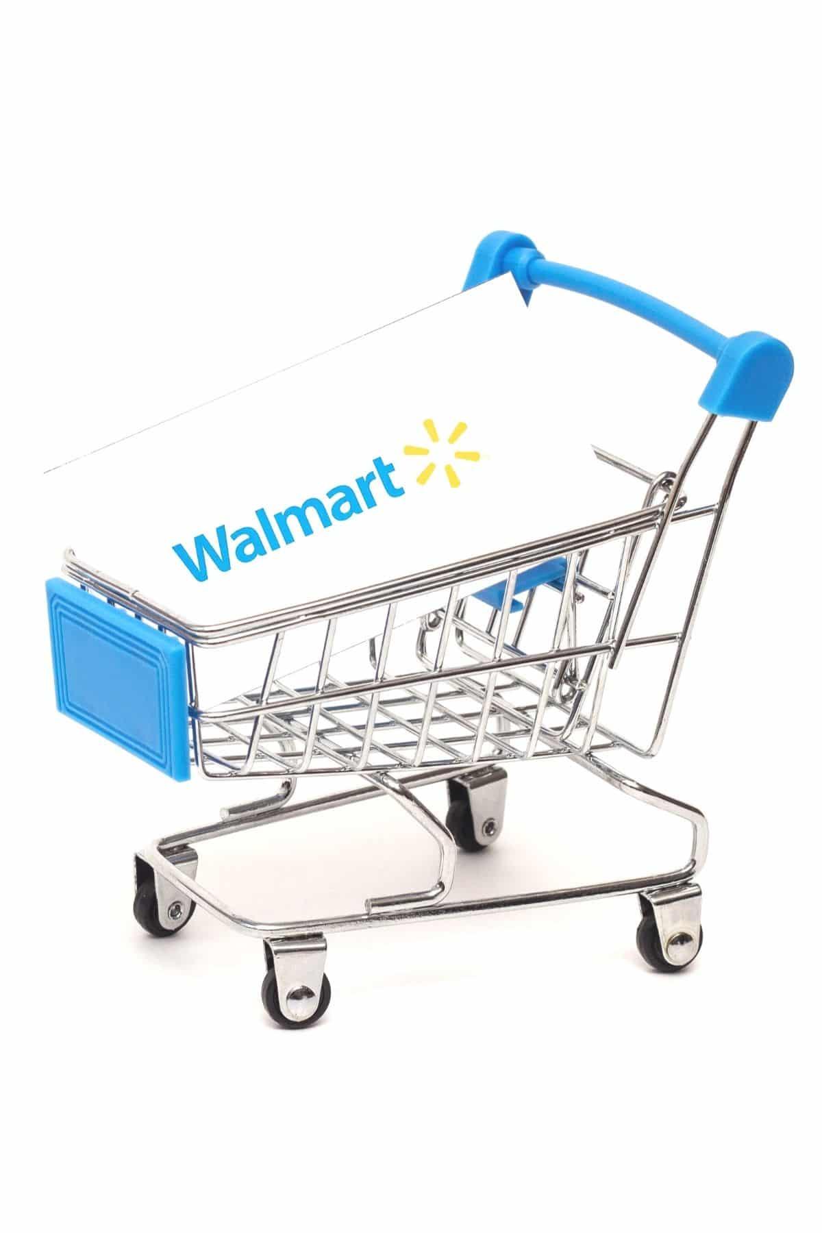 Walmart shopping basket