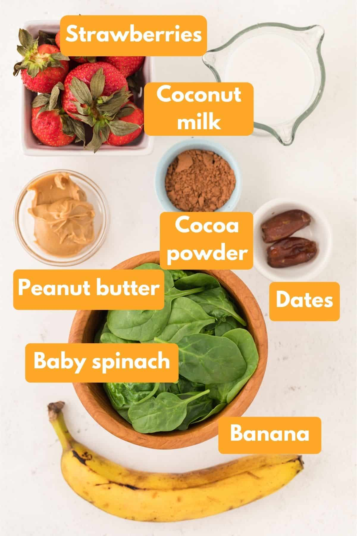 ingredients for weight gain shake