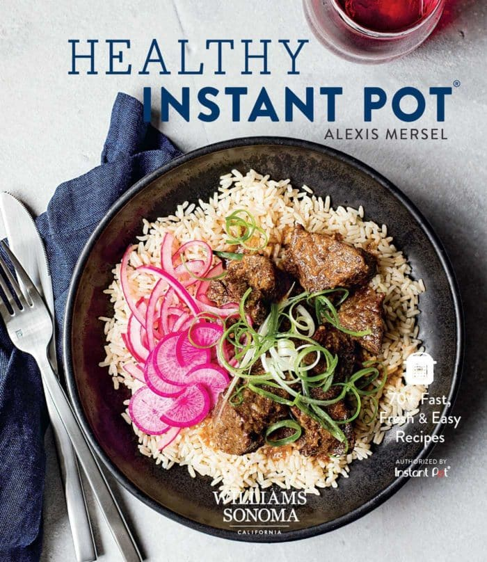 williams sonoma instant pot cookbook