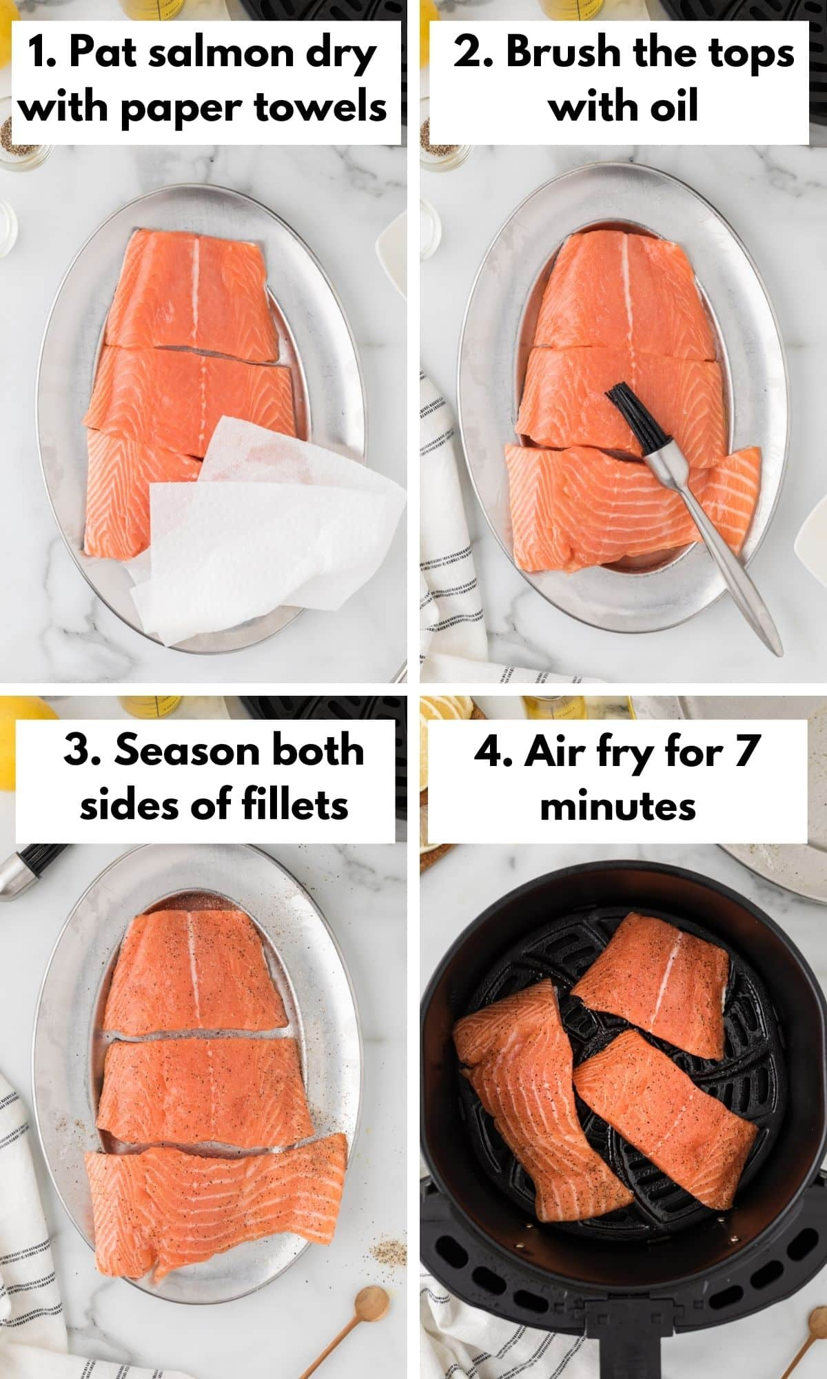 how to make salmon in the air fryer