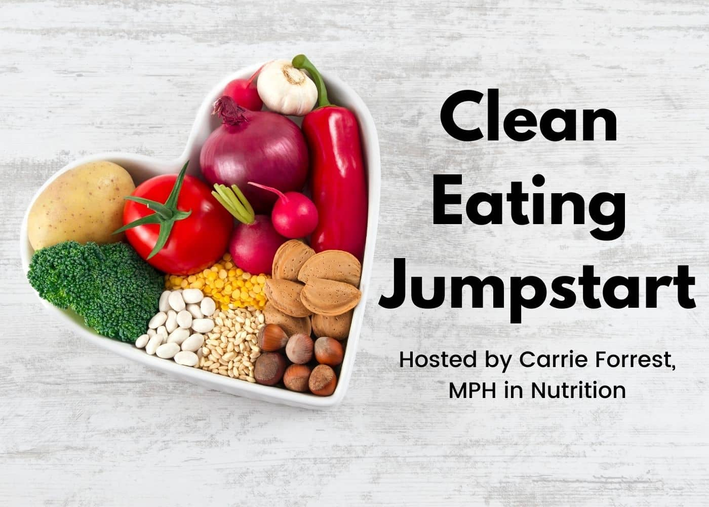 clean eating jumpstart graphic