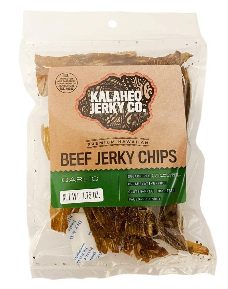 kalaheo jerky co. beef jerky chips