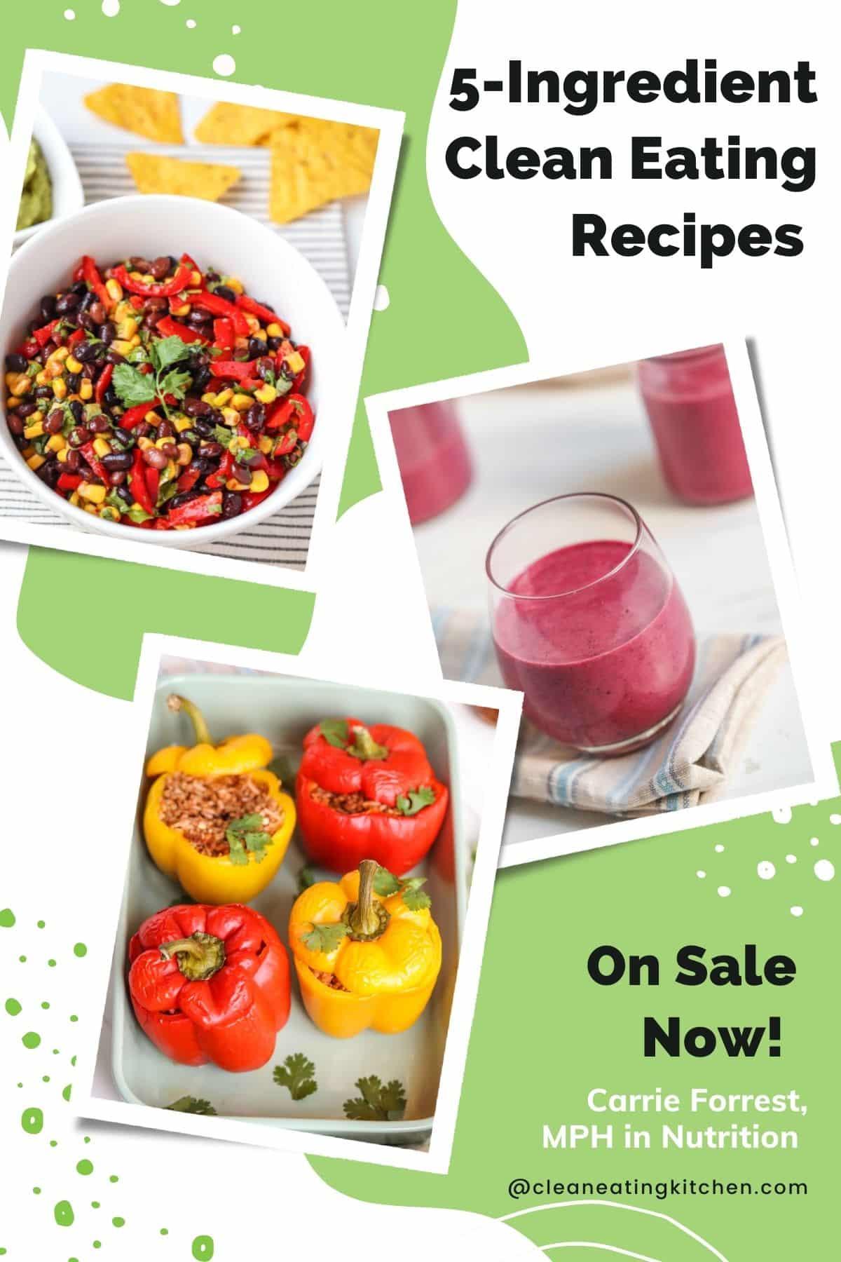 5-ingredient recipe ebook cover image