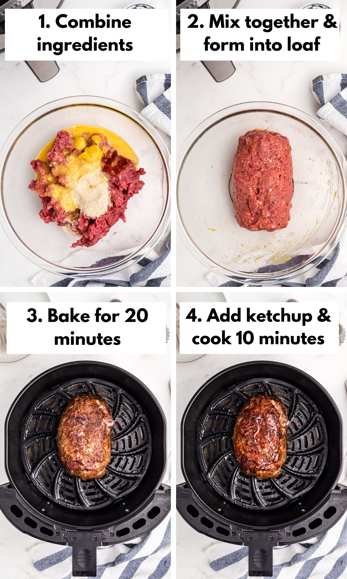 how to make meatloaf in an air fryer
