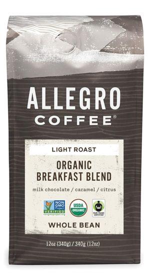 allegro coffee organic breakfast blend