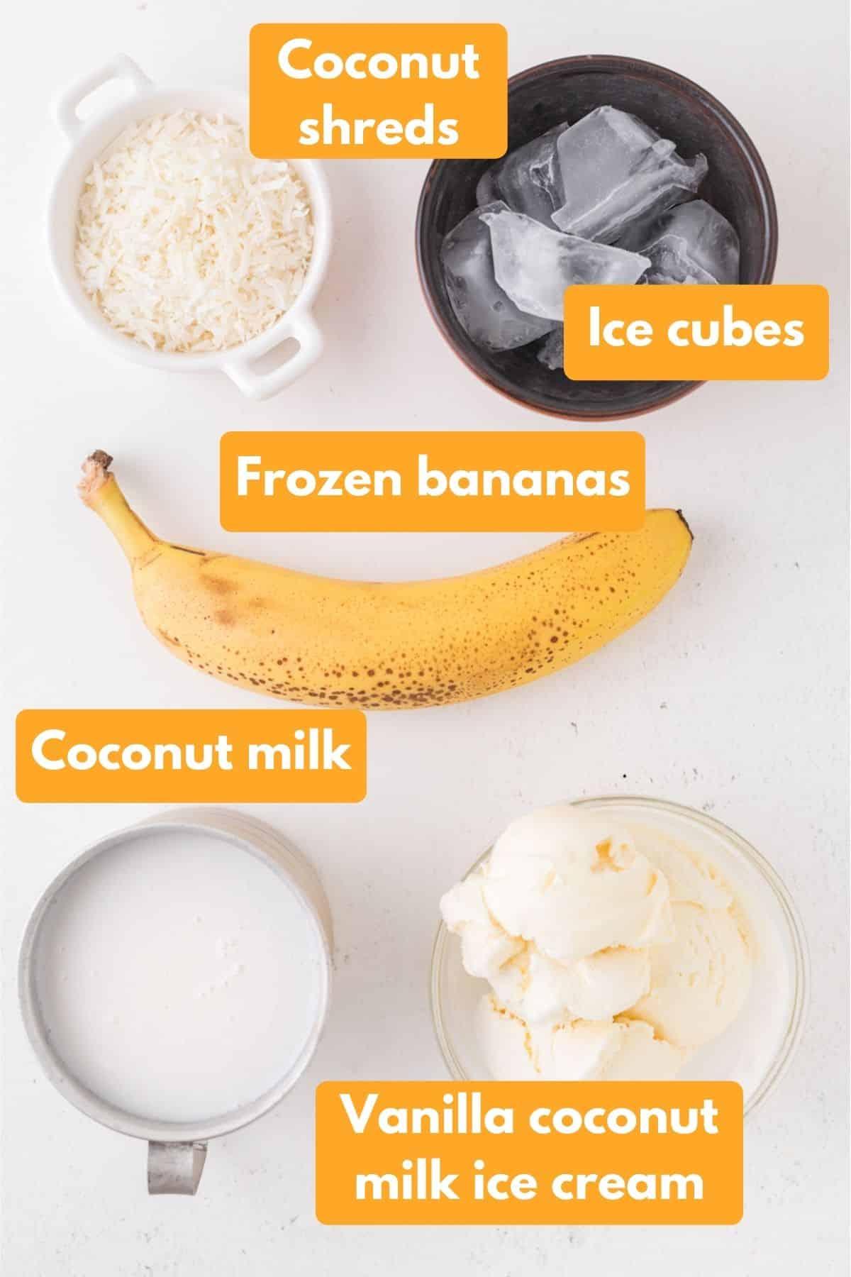 coconut shake ingredients
