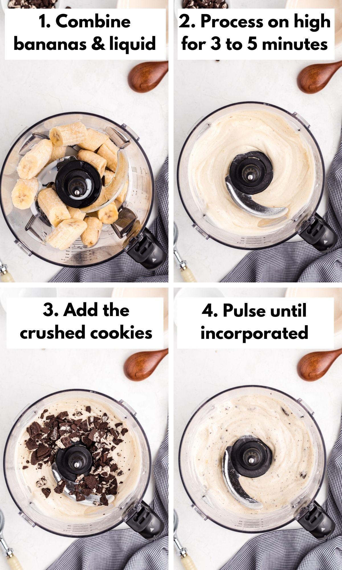 how to make cookies and cream nice cream