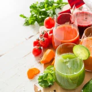 fresh vegetable juices