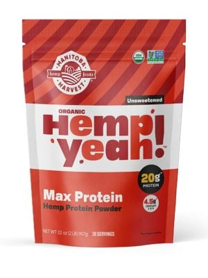 Manitoba Harvest hemp yeah organic max protein powder