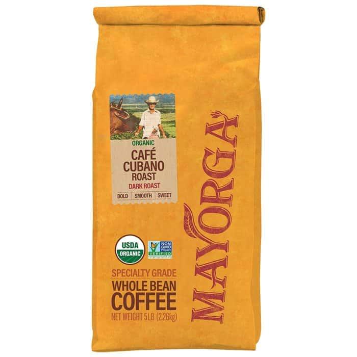 mayorga organics cafe whole bean coffee