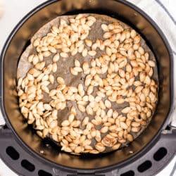 air fried pumpkin seeds