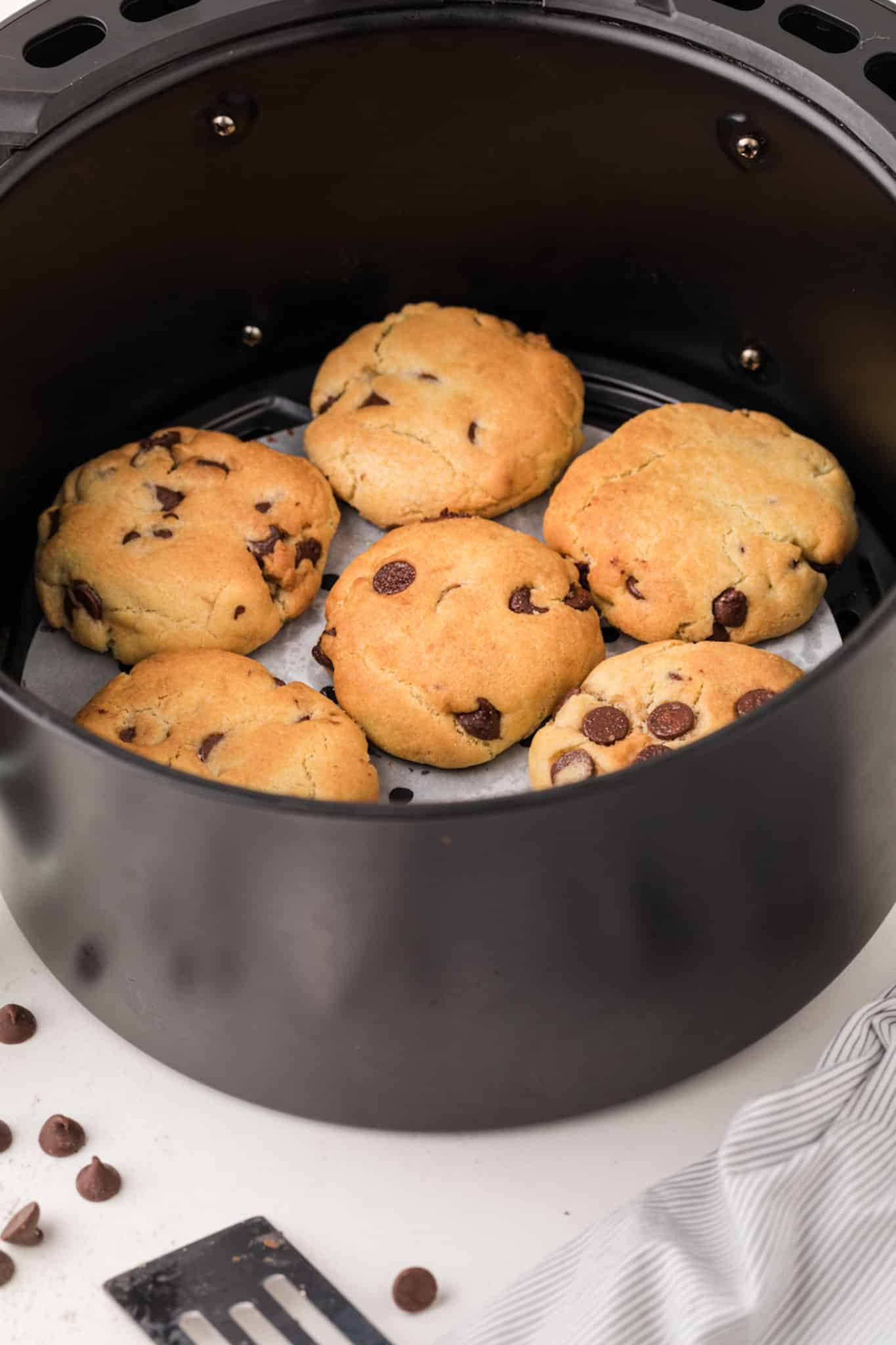 cookies baked in air fryer