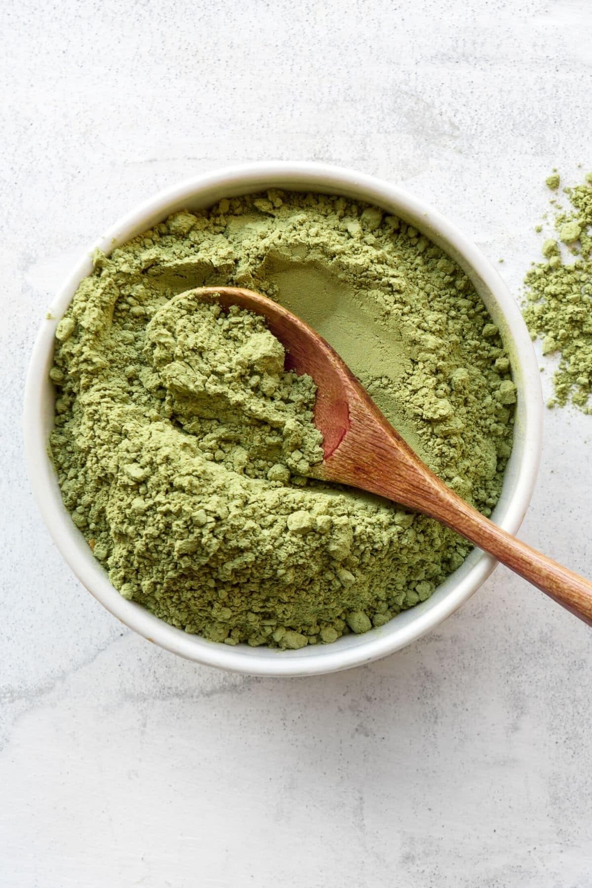 broccoli sprout powder in a bowl