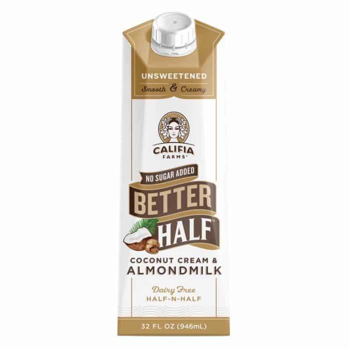 califia better half creamer