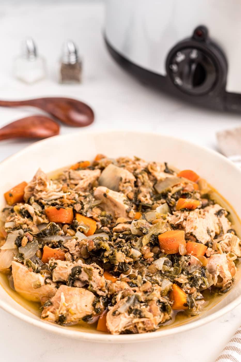 chicken stew with lentils