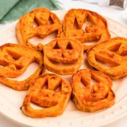 sweet potato jack o lanterns