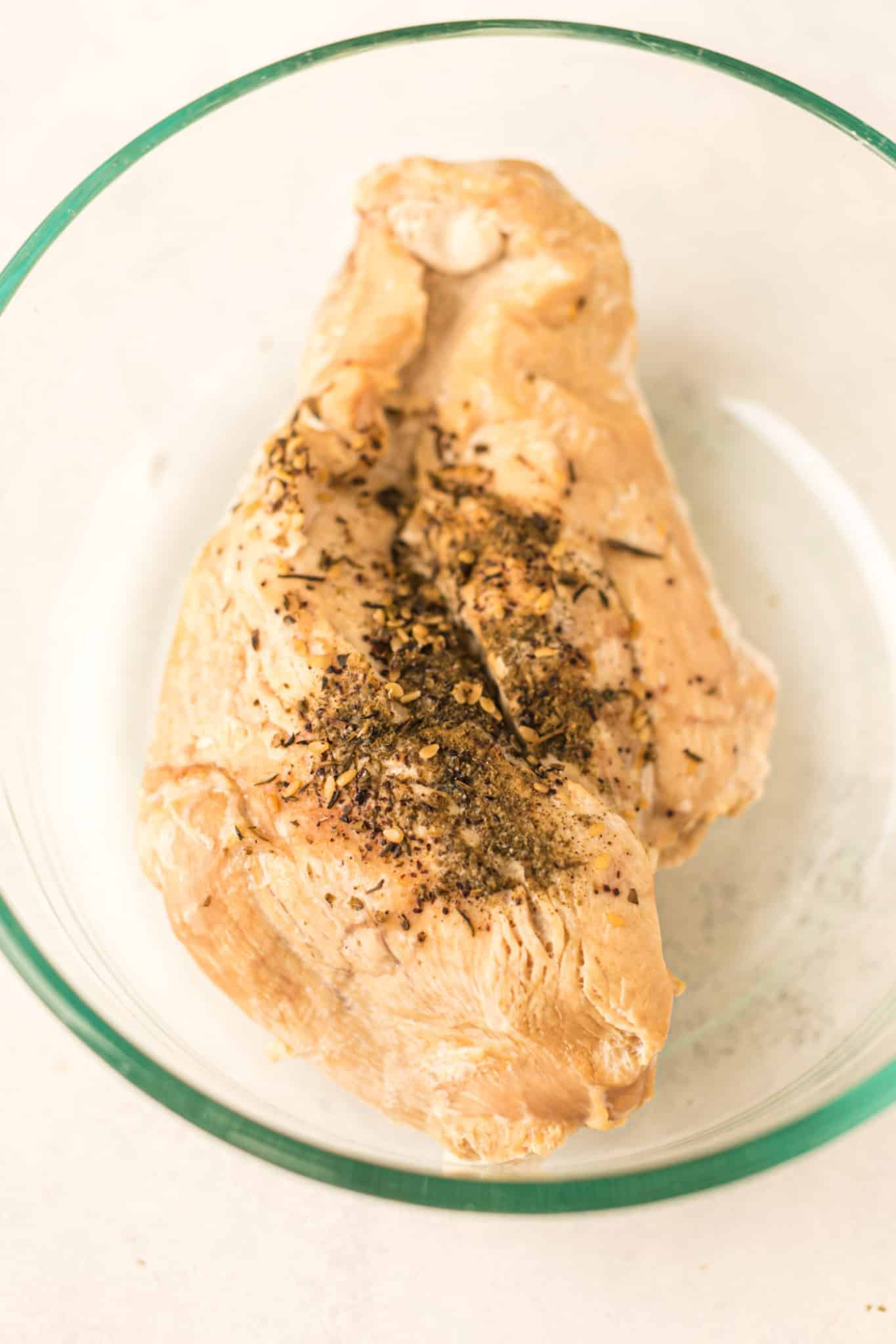 cooked turkey breast
